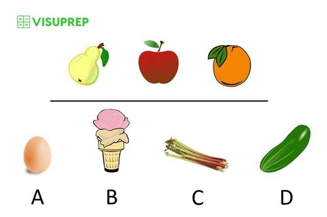 cogat test prep grade 2 picture classification